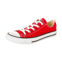 CONVERSE Chuck Taylor All Star OX Kinder Sneakers rot Gr. 31,5