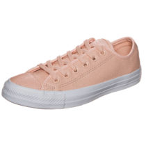 CONVERSE Chuck Taylor All Star Pebbled OX Sneakers Low rosa/weiß Damen Gr. 41