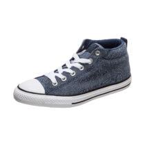 CONVERSE Chuck Taylor All Star Street Mid Sneaker Kinder blau/weiß Gr. 32