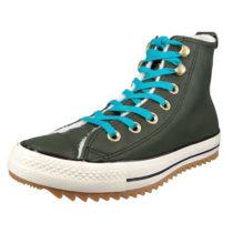 CONVERSE Chucks 162478C Grün Leder Chuck Taylor All Star Hiker Boot Utility Green Rapid Teal Sneakers High grün Gr. 37,5