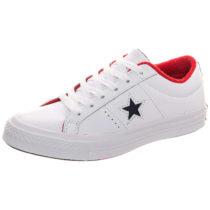 Converse Cons One Star Ox Sneakers Low weiß Damen Gr. 36