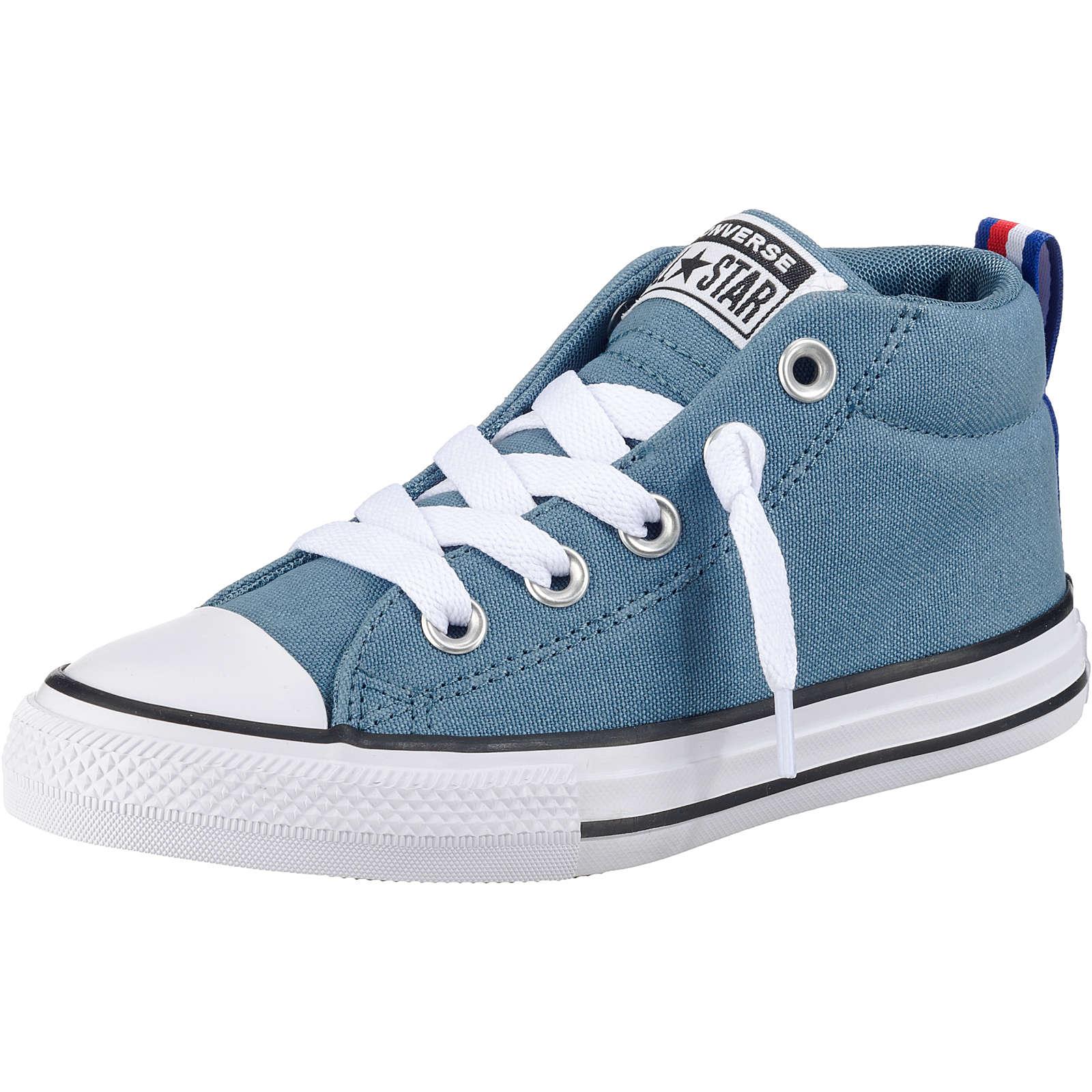 CONVERSE Kinder Sneakers High CTAS STREET MID CELESTIAL TEAL/BLACK blau Gr. 35