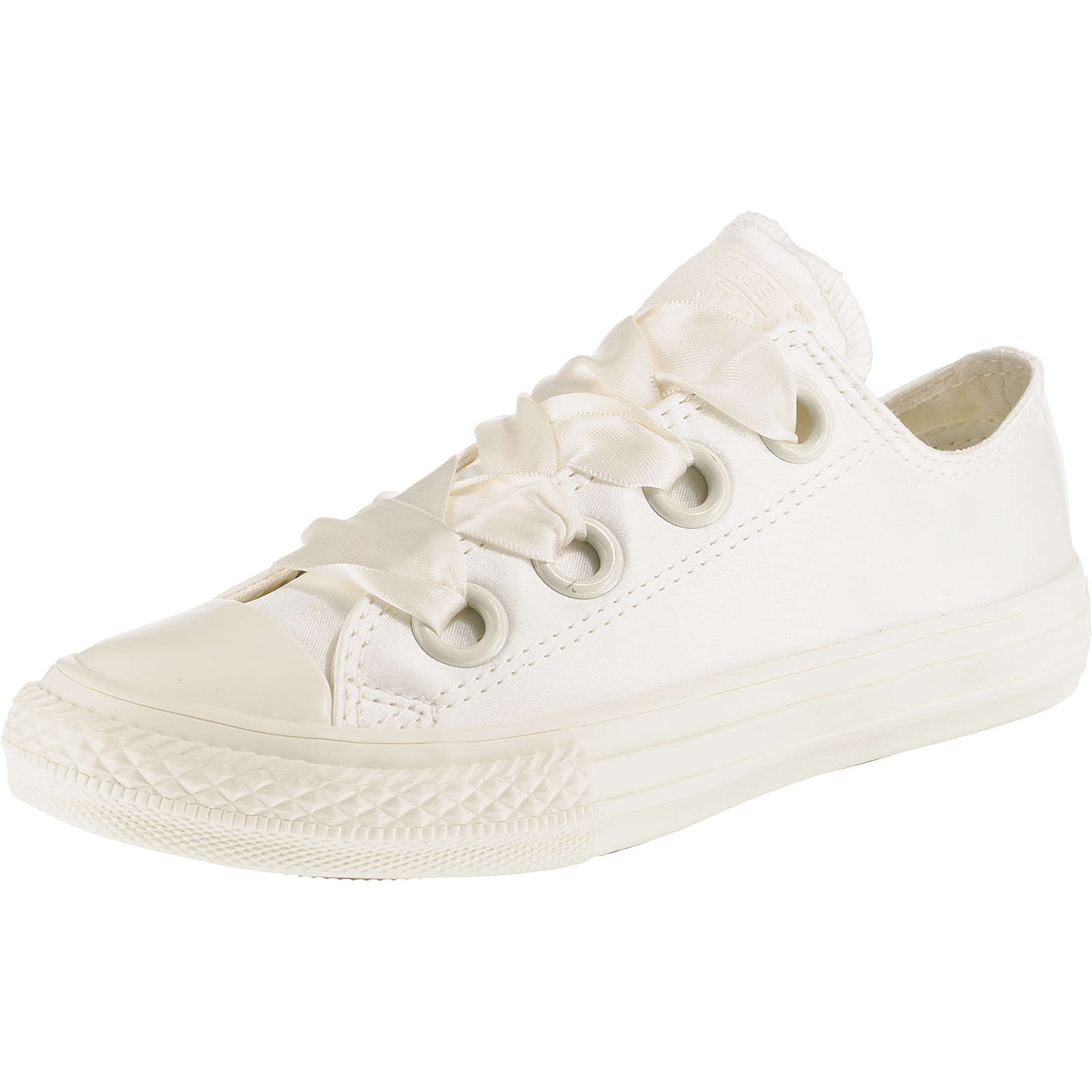 CONVERSE Kinder Sneakers Low Chuck Taylor All Star Big Eyelet weiß Mädchen Gr. 32