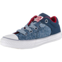 CONVERSE Kinder Sneakers Low Chuck Taylor All Star High Street blau Junge Gr. 33