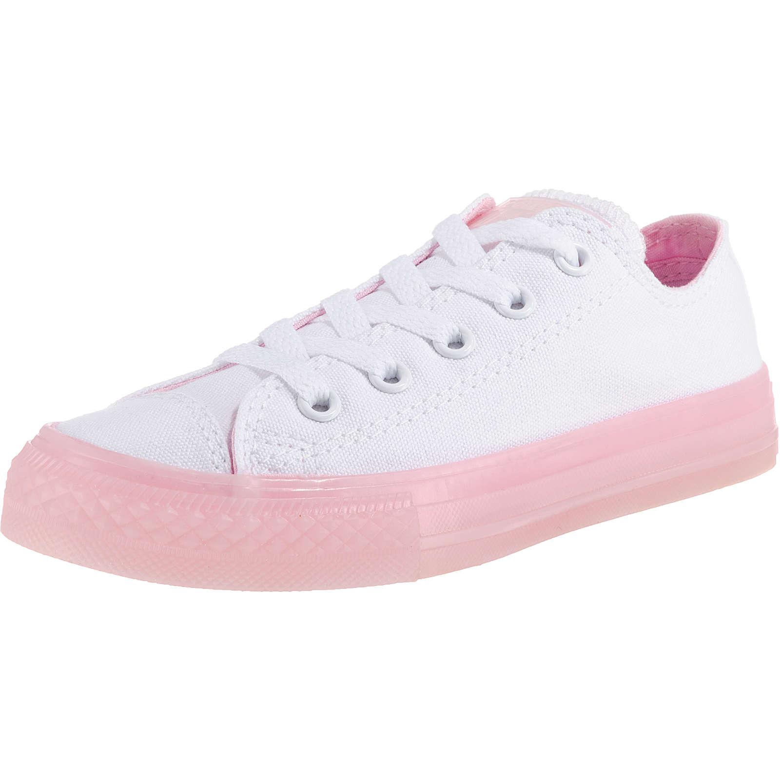 CONVERSE Kinder Sneakers Low Chuck Taylor All Star weiß Mädchen Gr. 28,5