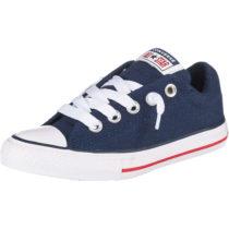 CONVERSE Kinder Sneakers Low CTAS STREET SLIP NAVY/WHITE/GARNET blau Gr. 31