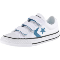 CONVERSE Kinder Sneakers Low Star Player weiß Junge Gr. 33,5