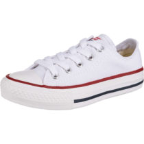 CONVERSE Kinder Sneakers Low YTH C/T ALL STAR OX OPTWT weiß Gr. 27