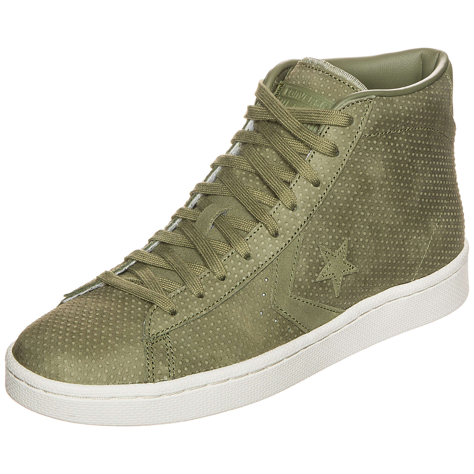 Converse Pro Leather 76 Lux Leather Mid Sneakers grün Gr. 44