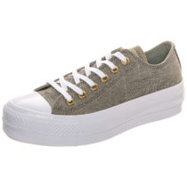CONVERSE Taylor All Star Lift OX Sneakers Low khaki Damen Gr. 41,5