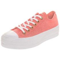 CONVERSE Taylor All Star Lift OX Sneakers Low koralle Damen Gr. 41,5