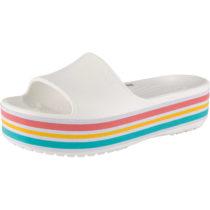 CROCS CB Platform Bld Color Slide Whi Pantoletten weiß Damen Gr. 36/37