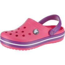 CROCS Clogs Crocband für Mädchen pink Mädchen Gr. 22/23