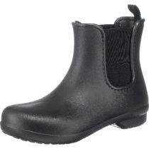 Crocs Freesail Chelsea Boot W Blk/Blk Gummistiefel schwarz Damen Gr. 37/38