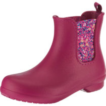Crocs Freesail Chelsea Boot W Bry Dot Gummistiefel pink Damen Gr. 36 37 03734d589c9