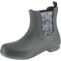 Crocs Freesail Chelsea Boot W SGy/Dot Gummistiefel grau Damen Gr. 41/42
