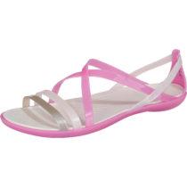 CROCS Isabella Strappy Sandal W Vio/Oys Komfort-Sandalen lila-kombi Damen Gr. 41/42