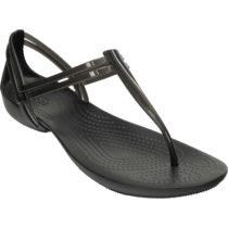 Crocs Isabella T-strap T-Steg-Sandalen schwarz Damen Gr. 36/37