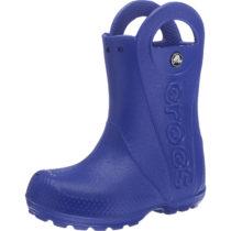 CROCS Kinder Gummistiefel Handle It Rain Boot blau Junge Gr. 24/25