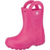 CROCS Kinder Gummistiefel Handle It Rain Boot pink Mädchen Gr. 24/25