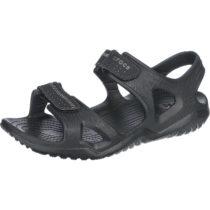 CROCS Swiftwater River Sandal M Blk/Blk Komfort-Sandalen schwarz Herren Gr. 45/46