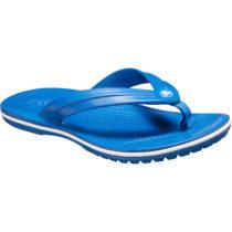 CROCS Kinder Zehentrenner Crocband Flip blau Gr. 32/33