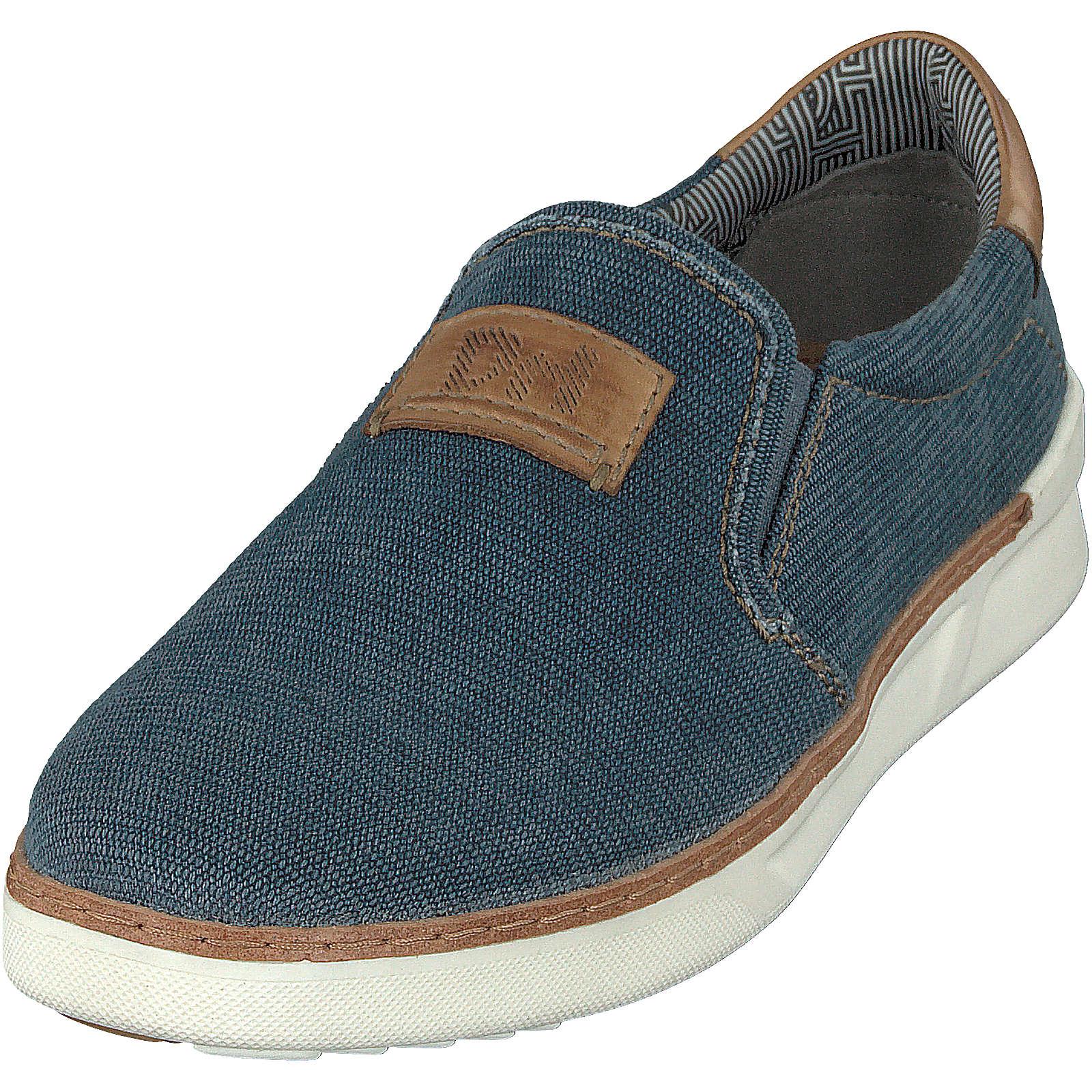 DANIEL HECHTER Slip-On-Sneaker dunkelblau Herren Gr. 41