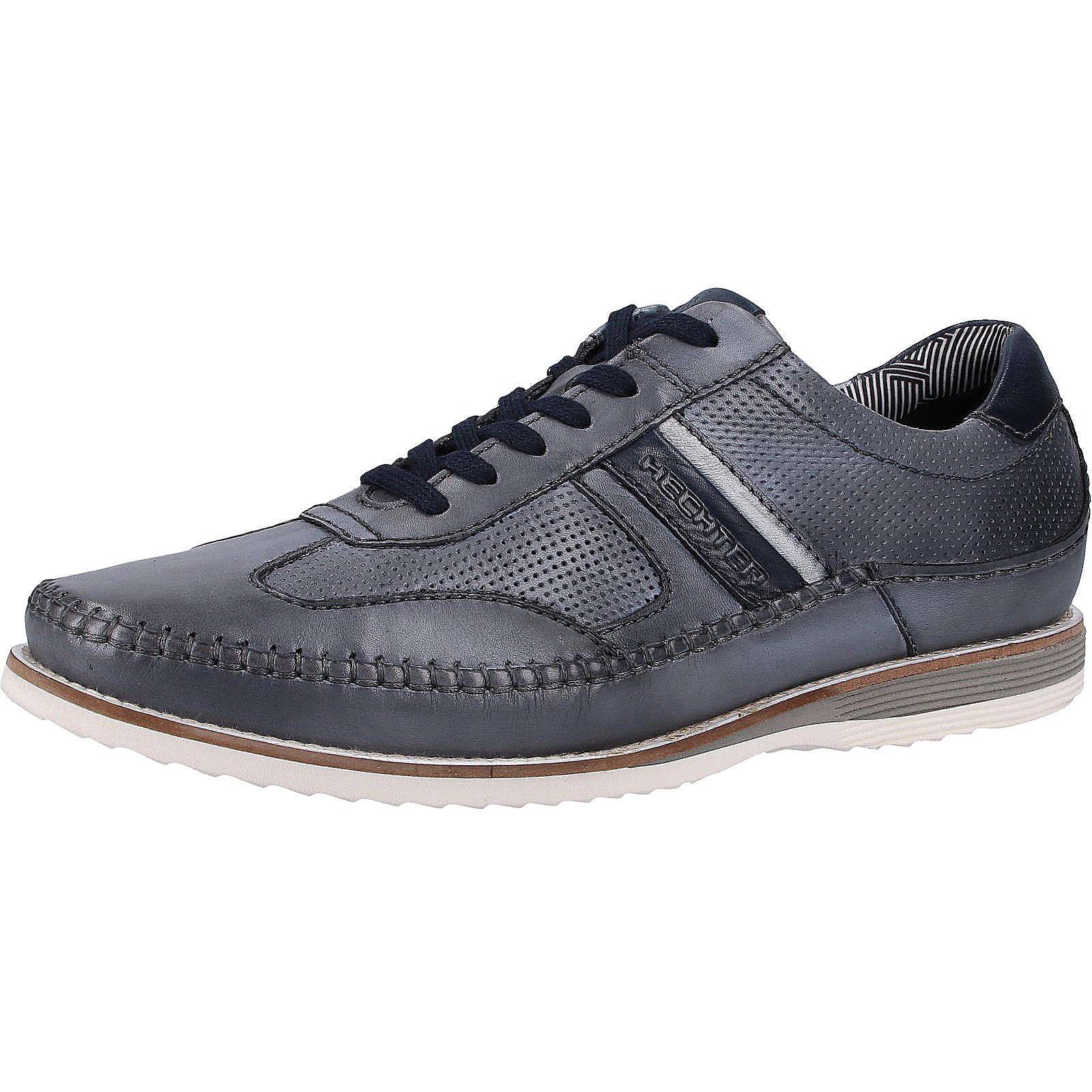 DANIEL HECHTER Sneaker Sneakers Low hellgrau Herren Gr. 40