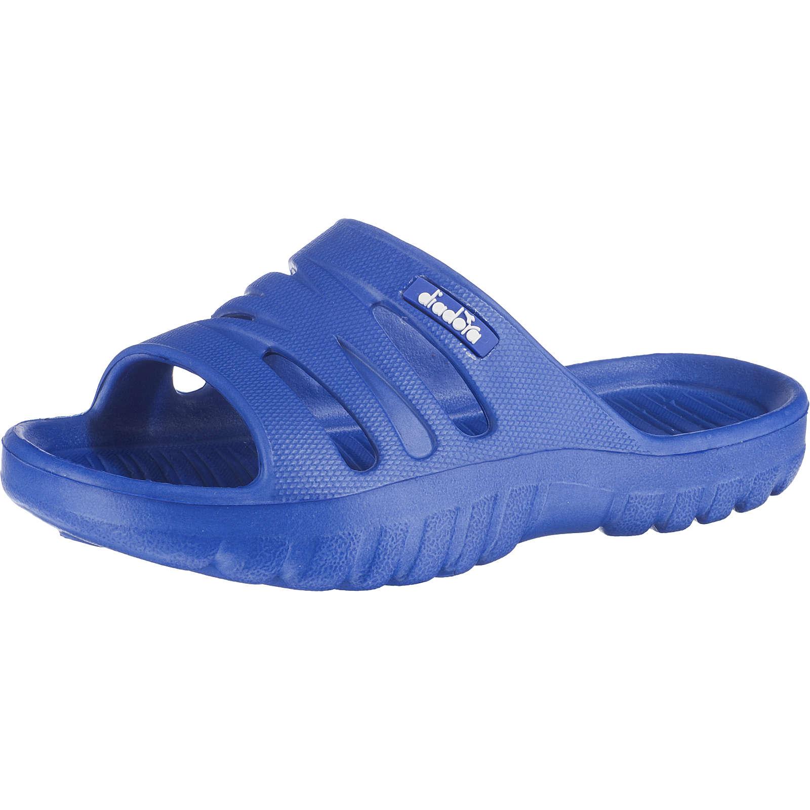 Diadora Kinder Badelatschen AGADIR JR blau Gr. 34