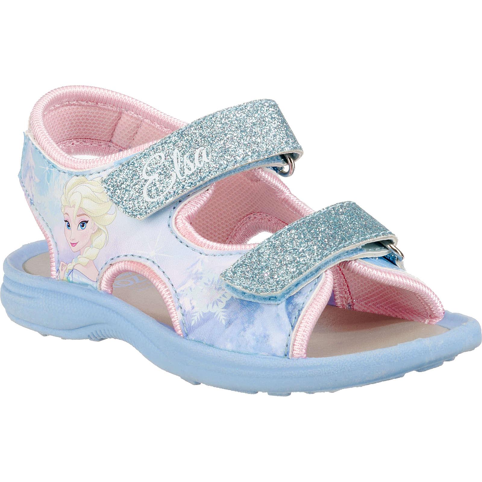 Disney Die Eiskönigin Sandalen für Mädchen hellblau Mädchen Gr. 24