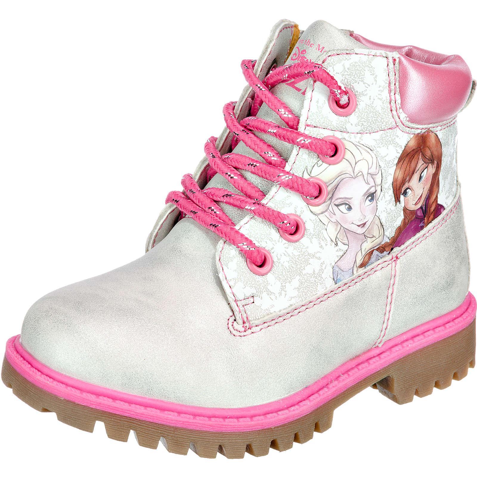Disney die Eiskönigin Stiefel für Mädchen silber Mädchen Gr. 30