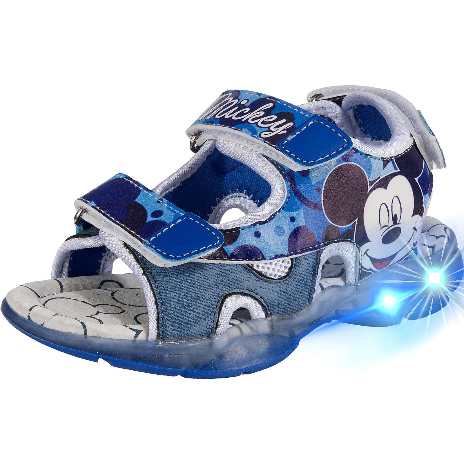 Disney Mickey Mouse & friends Baby Sandalen Blinkies für Jungen dunkelblau Junge Gr. 25