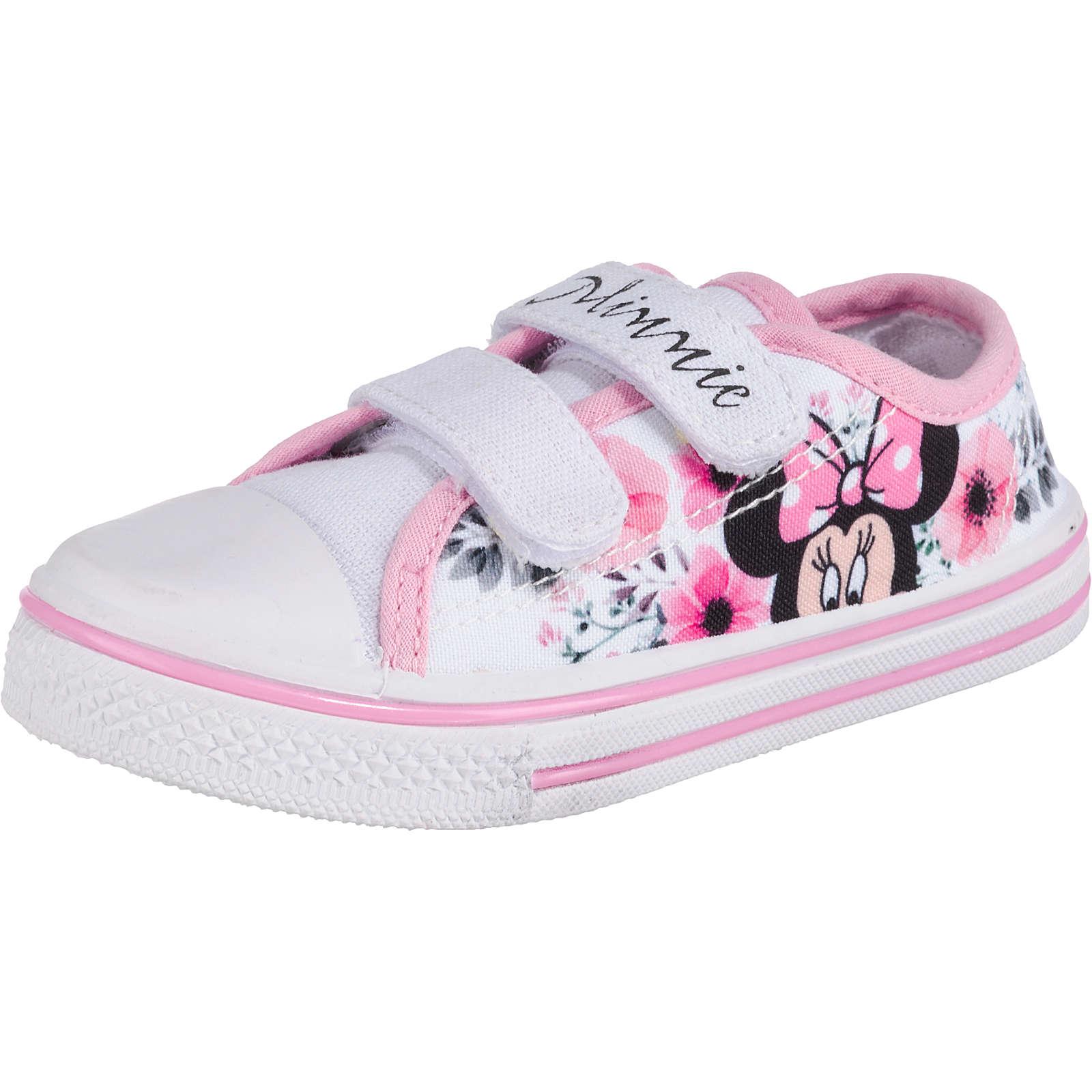 Disney Minnie Mouse Baby Sneakers Low für Mädchen rosa Mädchen Gr. 30