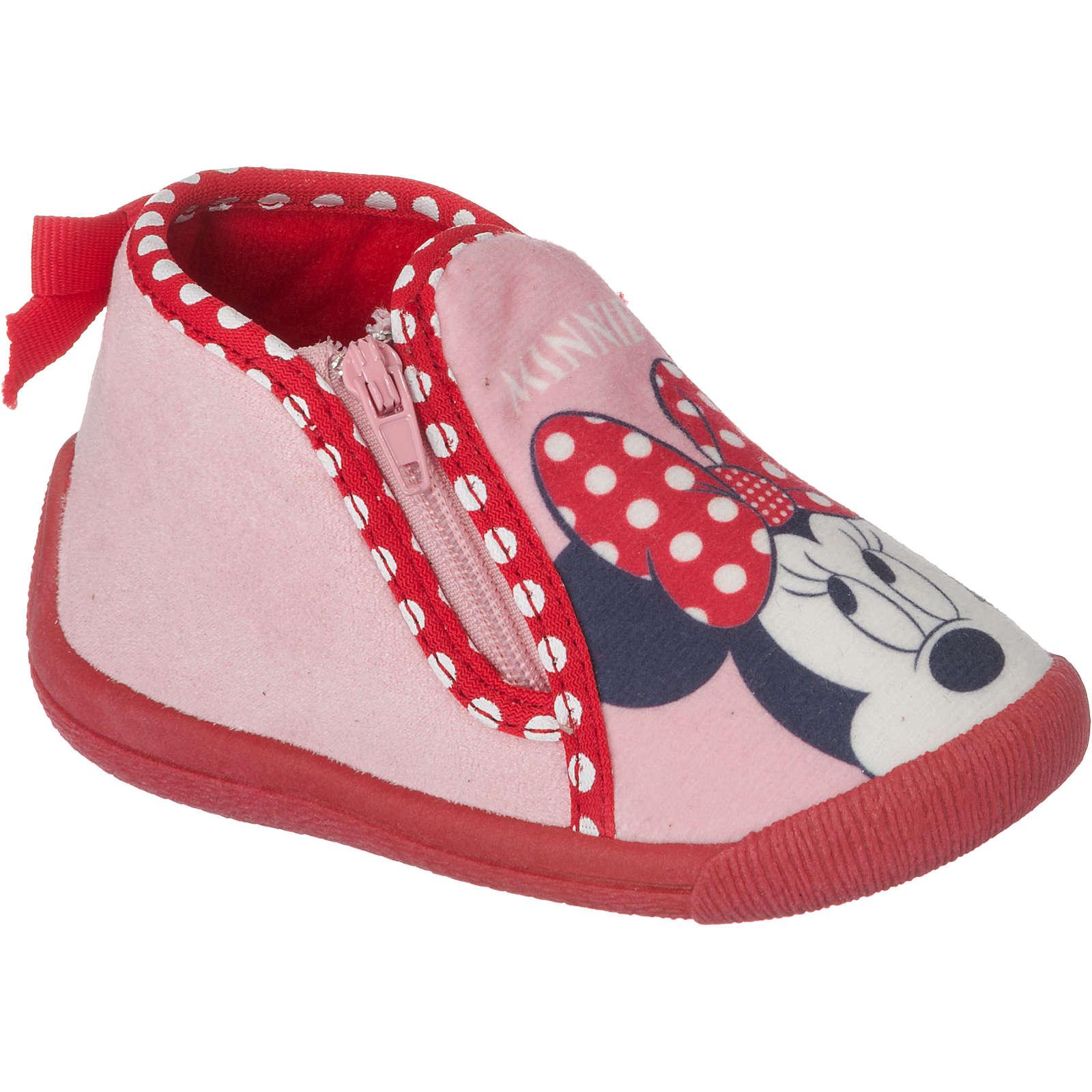 Disney Minnie Mouse Hausschuhe für Mädchen rosa Mädchen Gr. 25
