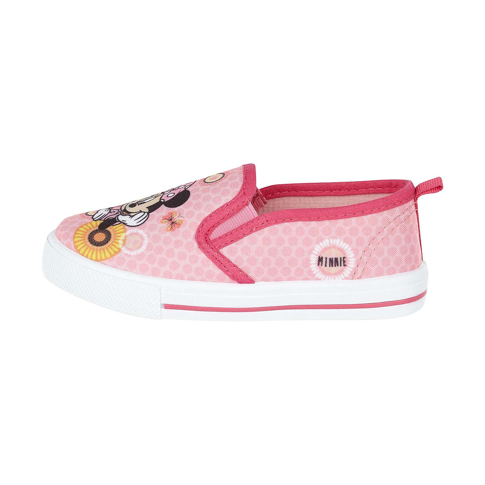Disney Minnie Sneaker Low für Mädchen hellrosa Mädchen Gr. 25