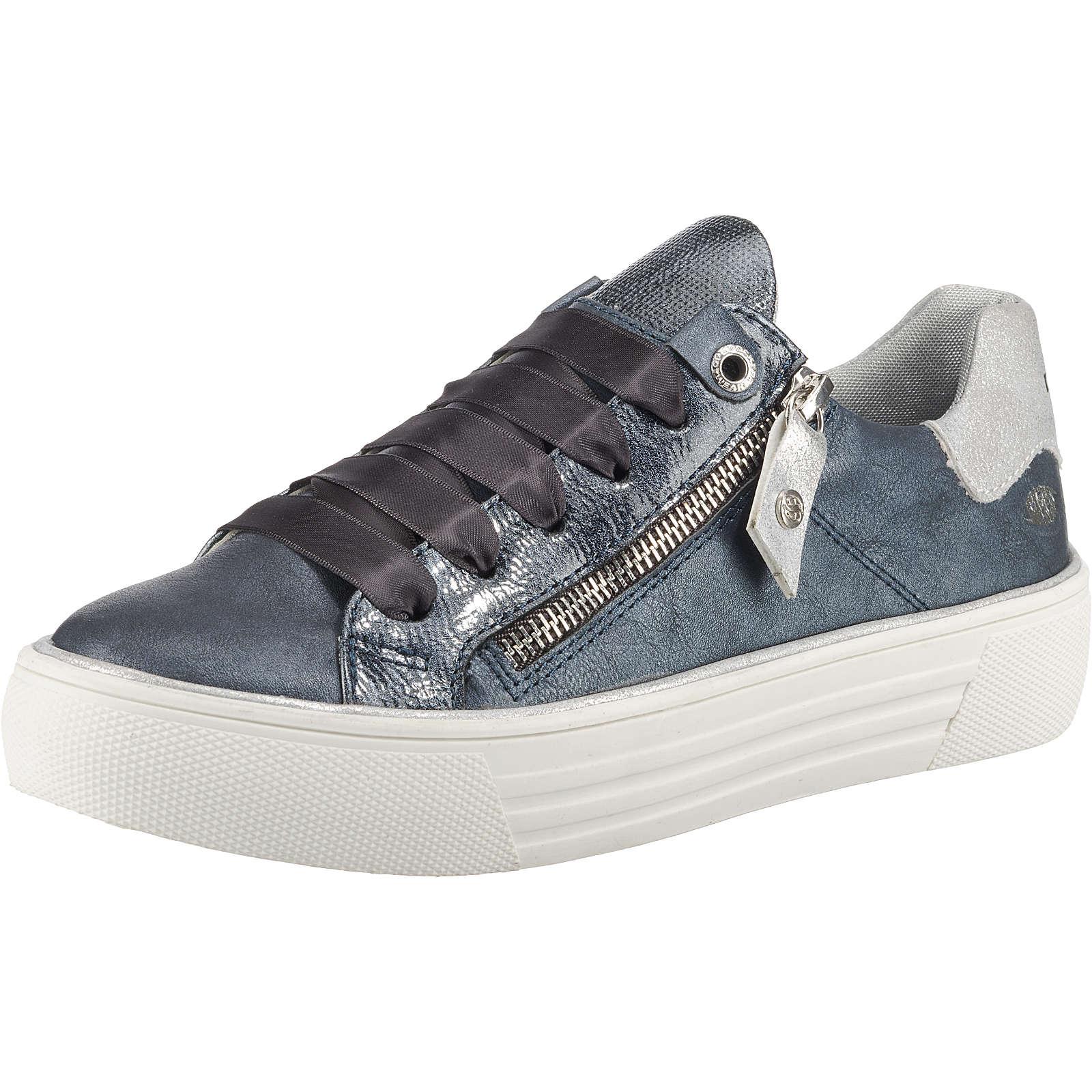 Dockers by Gerli Sneakers Low dunkelblau Damen Gr. 41