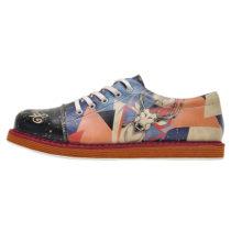 Dogo Shoes Broke´s Oh My Deer Sneakers Low mehrfarbig Damen Gr. 36