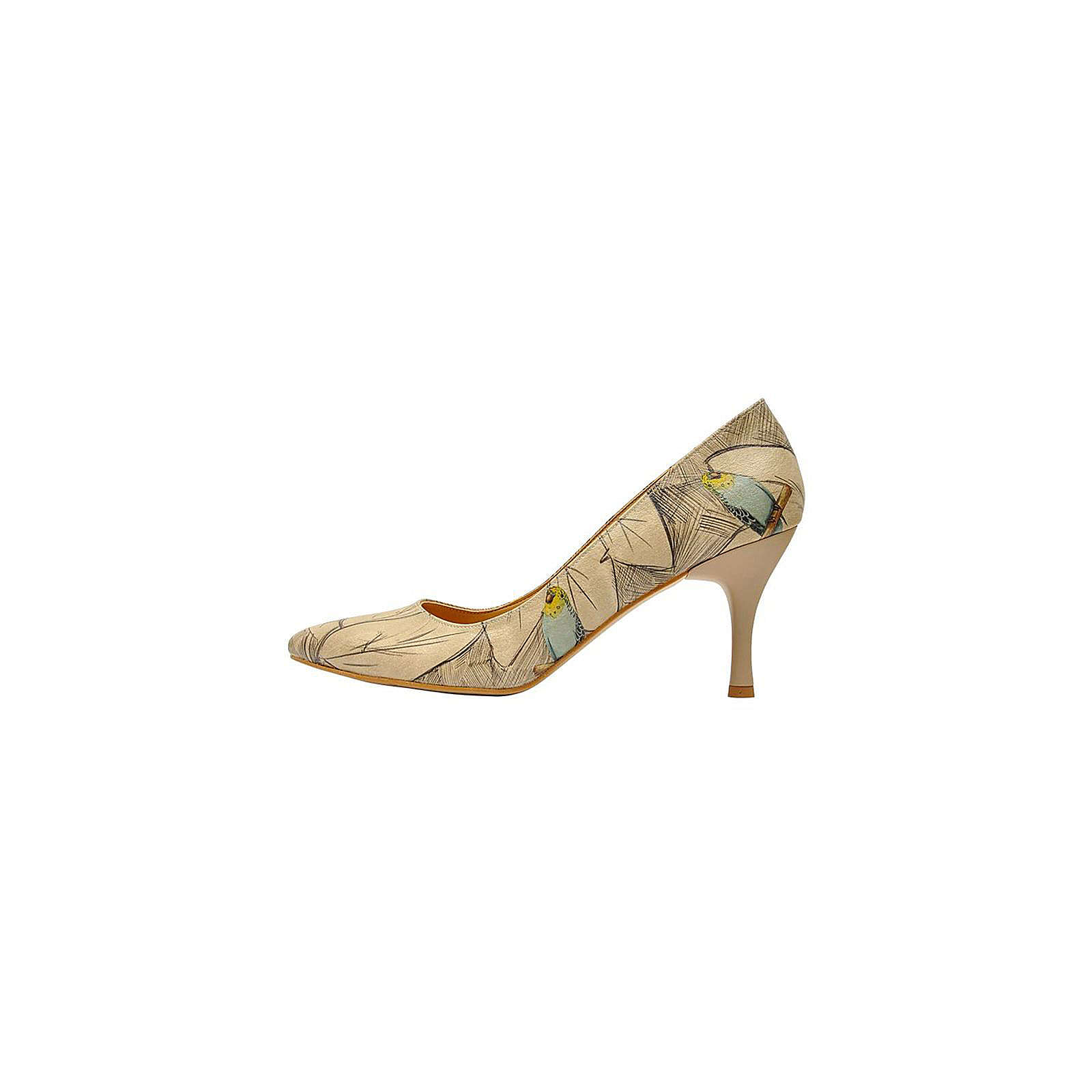 Dogo Shoes Budgies are Cool Klassische Pumps mehrfarbig Damen Gr. 36