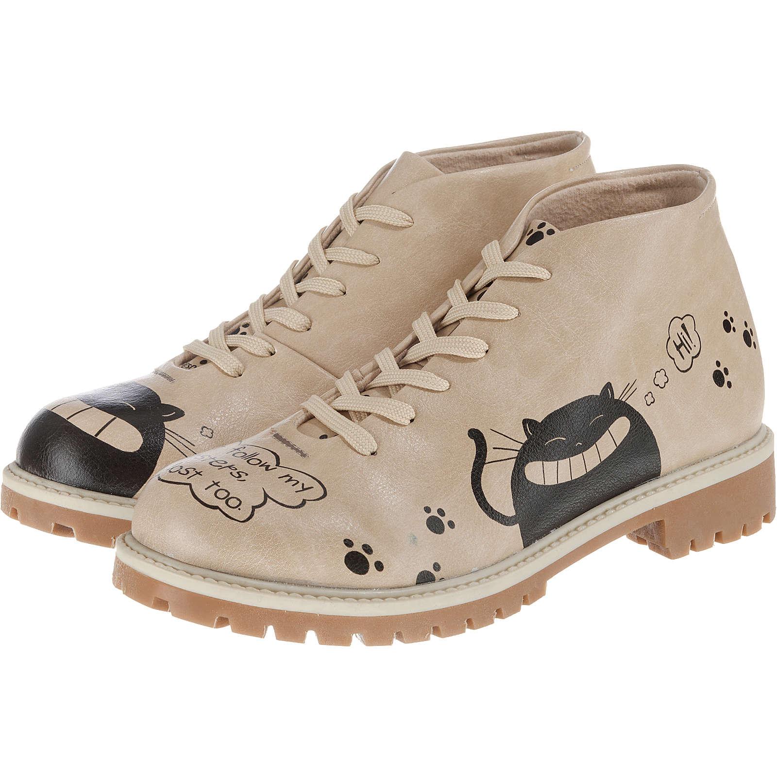 Dogo Shoes Hello Fall Desert Boots beige Damen Gr. 37