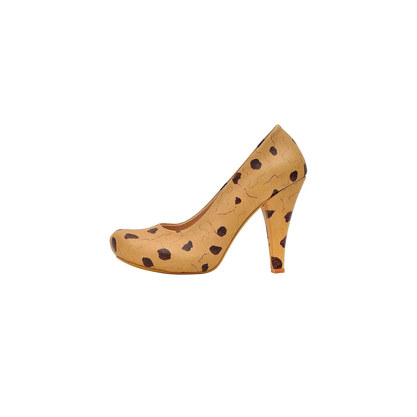 Dogo Shoes Klassische Pumps High-Heels Milk and Cookie mehrfarbig Damen Gr. 36