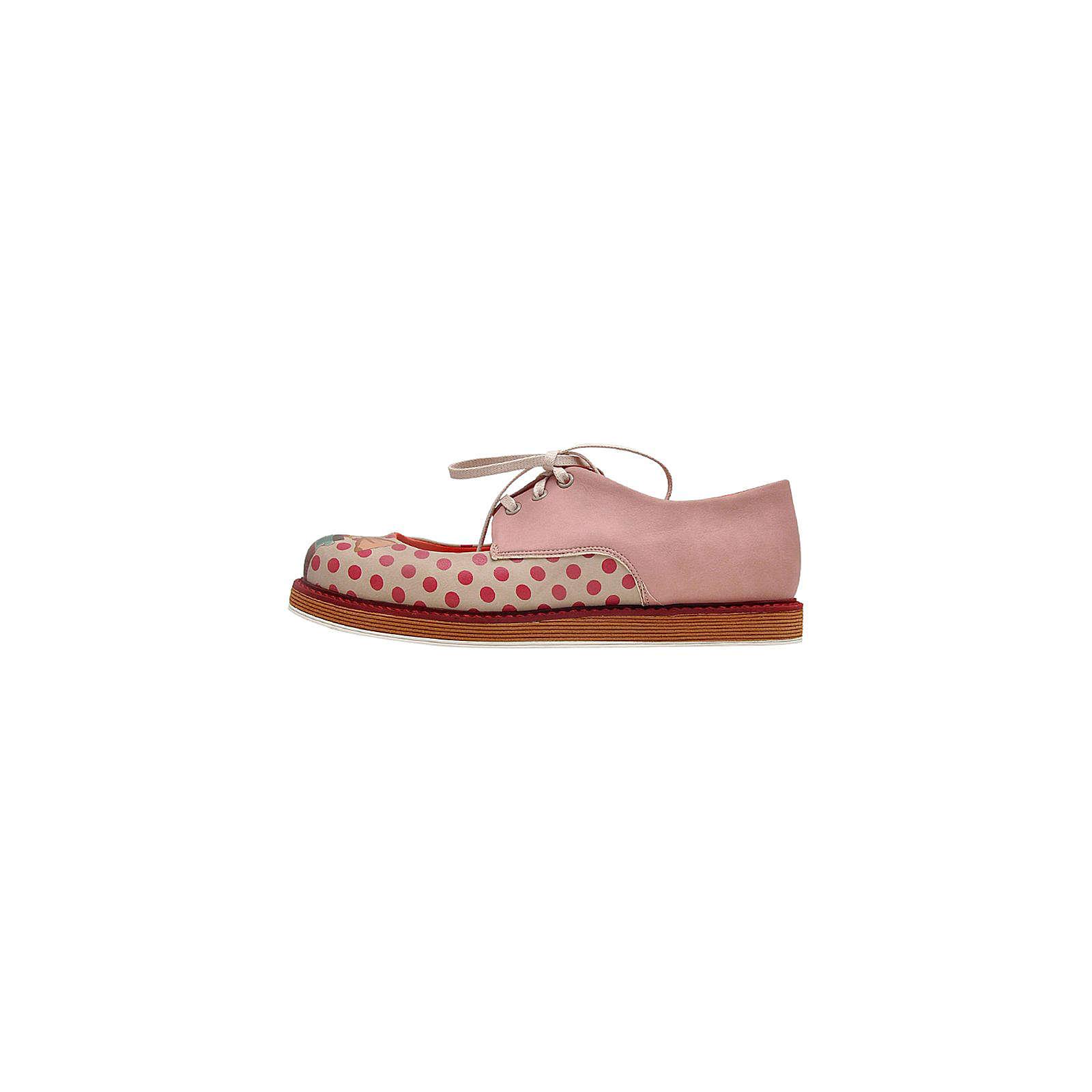Dogo Shoes Schnürschuhe love potion mehrfarbig Damen Gr. 36