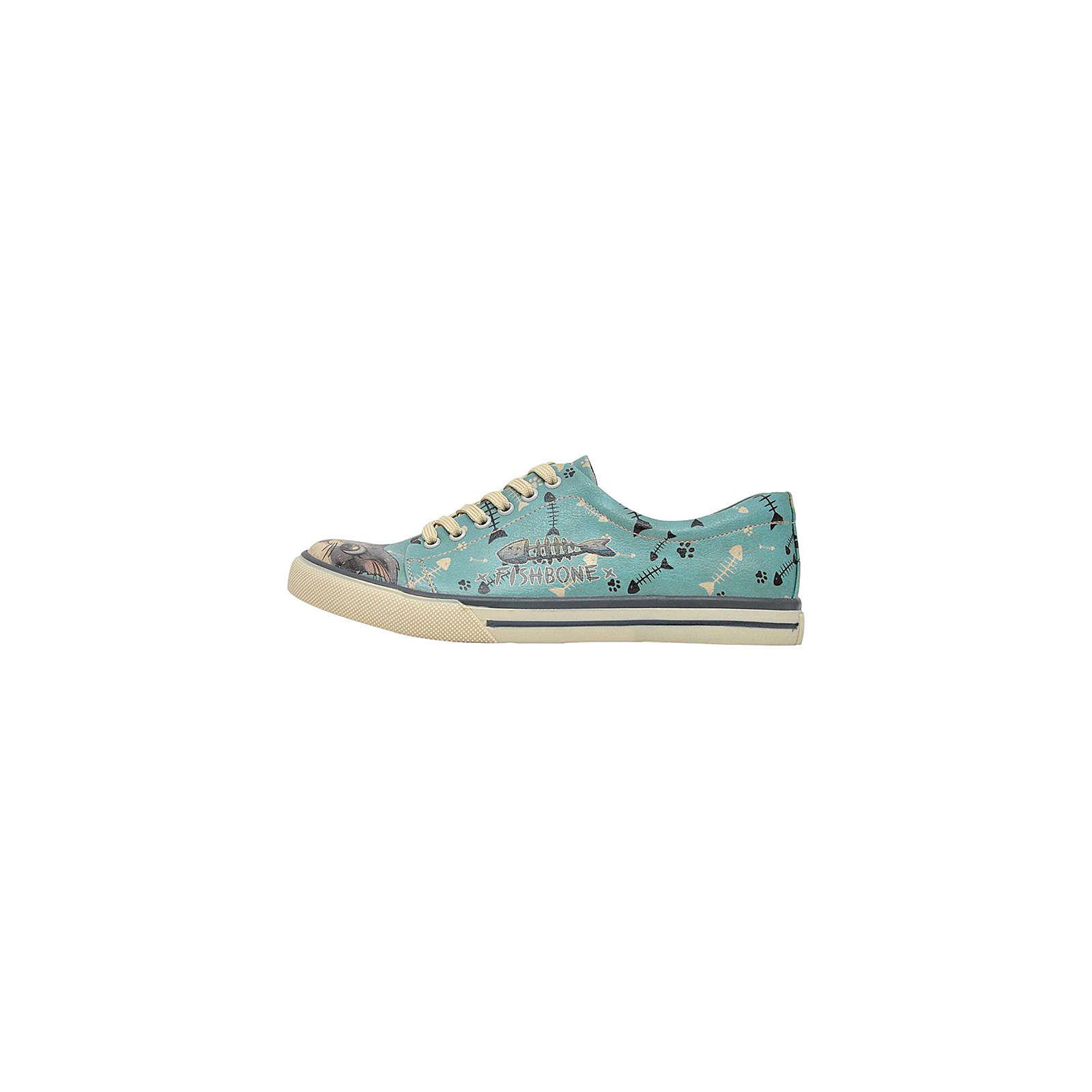 Dogo Shoes Sneakers Low Fishbone Lover mehrfarbig Damen Gr. 36