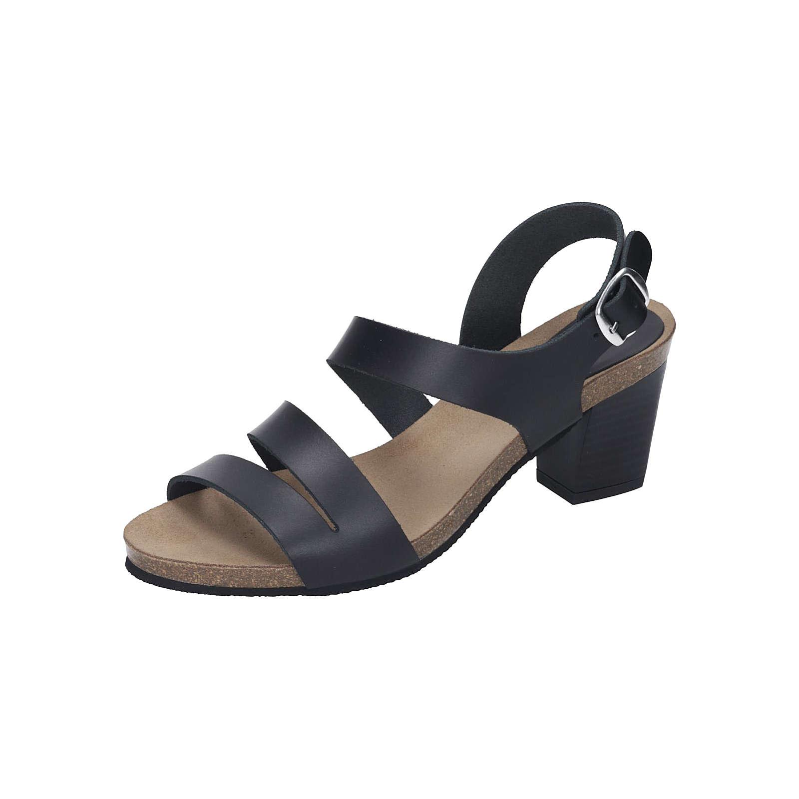 Dr. BRINKMANN Damen Sandale Komfort-Sandalen schwarz Damen Gr. 36