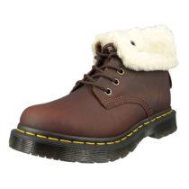 Dr. Martens 1460 24014201 Damen Kolpert Snowplow Dark Brown Braun 8-Loch Warmfutter Schnürstiefeletten braun Damen Gr. 40