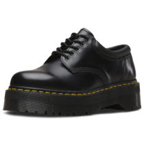 Dr. Martens 5 Eye Shoe 8053 Polished Smooth schwarz Gr. 45