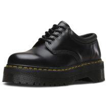 Dr. Martens 5 Eye Shoe 8053 Polished Smooth schwarz Gr. 36