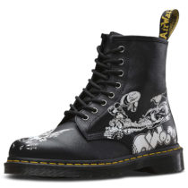 Dr. Martens 8 Eye Boot 1460 RG Backhand Eye schwarz/weiß Gr. 41