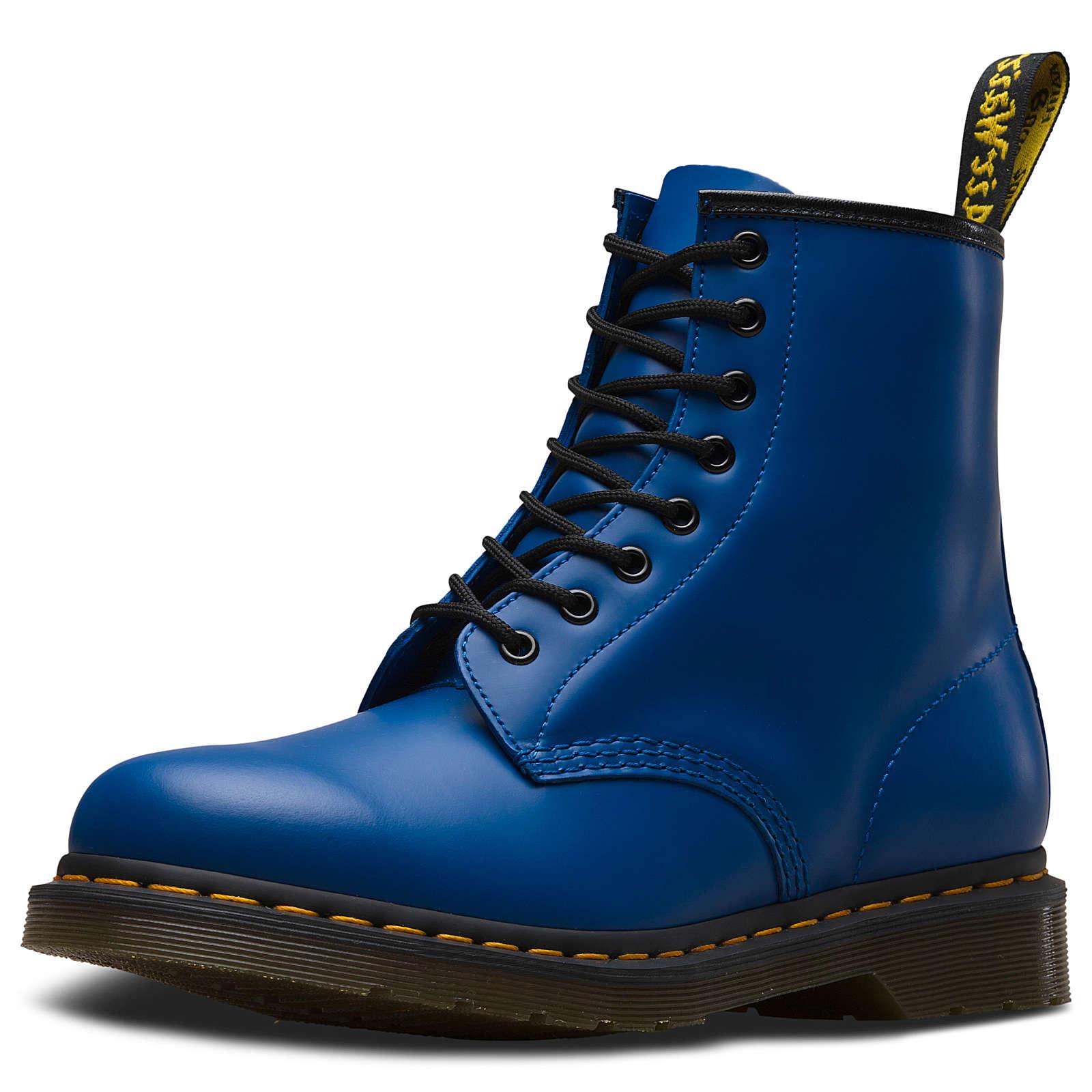 Dr. Martens 8 Eye Boot 1460 Smooth blau Gr. 37