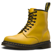 Dr. Martens 8 Eye Boot 1460 Smooth gelb Gr. 47