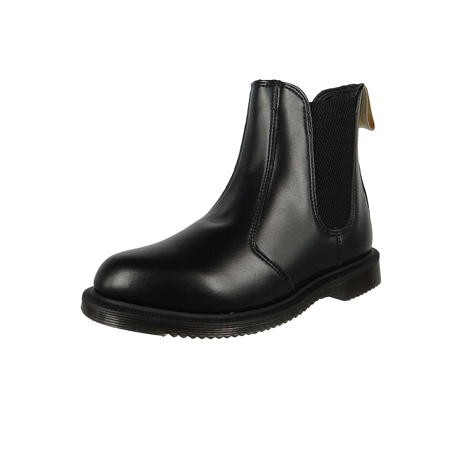 Dr. Martens Vegan Flora 24179001 Damen Black Felix Rub Off Schwarz Chelsea Boot Klassische Stiefeletten schwarz Damen Gr. 38